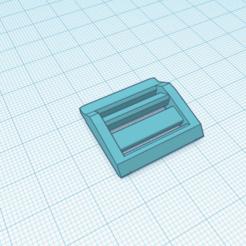 hebilla 1 (2).png Télécharger fichier STL gratuit Boucle 1. pour élastique de 20 millimètres maximum. • Design à imprimer en 3D, Estairco