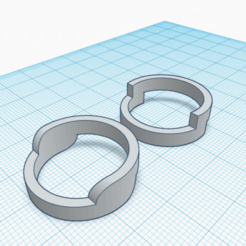 AN2 3Y4 (5).png Download free STL file Unisex ring, model AN2 3 and 4 • 3D printer object, Estairco