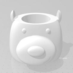 oso panda.jpg Télécharger fichier STL 3 compagnons Ours Scandaleux • Plan pour imprimante 3D, Producciones