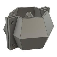 Download 3D printer designs CEMENT POT MOULD MOD12, 373estudio