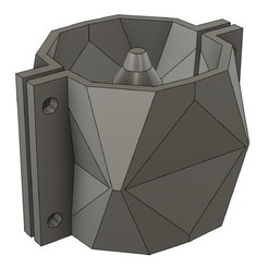 Download 3D printing templates CEMENT POT MOULD MOD24, 373estudio