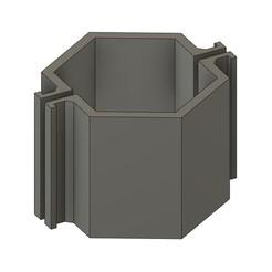 mod03.jpg Download STL file CEMENT CANDLEHOLDER MOULD MOD03 • 3D printing object, 373estudio