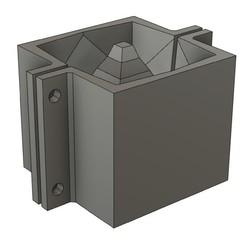 Download 3D printer templates CEMENT POT MOULD MOD25, 373estudio