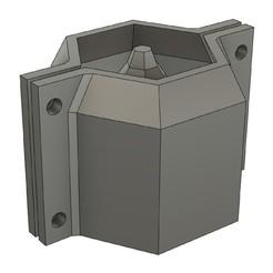 Download 3D printer designs CEMENT POT MOULD MOD23, 373estudio