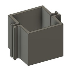 mod02.jpg Download STL file CEMENT CANDLEHOLDER MOULD MOD02 • 3D printer object, 373estudio