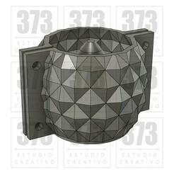 mod42.jpg Télécharger fichier STL MOULE DE POT EN CIMENT MOD42 ANANAS • Plan pour imprimante 3D, 373estudio
