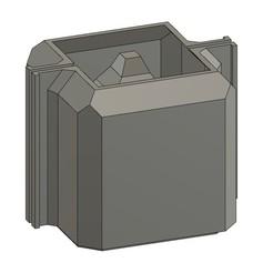 Descargar archivo STL MOLDE SLIM MACETAS DE CEMENTO MOD01 • Plan de la impresora 3D, 373estudio