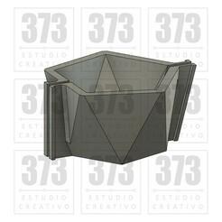 mod08.jpg Télécharger fichier STL MOULE DE BOUGEOIR EN CIMENT MOD08 • Modèle imprimable en 3D, 373estudio