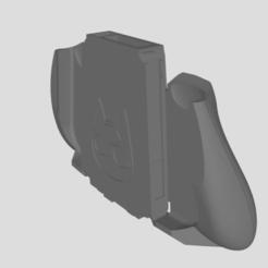 Capture.PNG Download OBJ file Switch Joycon holder - Raymond themed • 3D printer object, Parzle