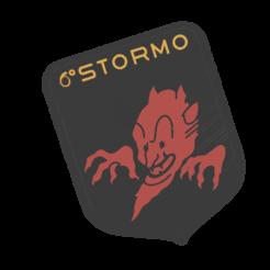6 stormo nuova versione v4.png Télécharger fichier STL Manteau mural, aile de l'armée de l'air italienne • Modèle pour imprimante 3D, Gain71
