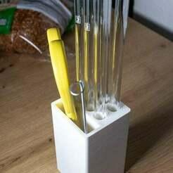 IMG_1996.jpg Télécharger fichier STL gratuit Support de paille pour boire • Design pour impression 3D, jensj