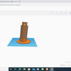 Screenshot (19).png Download STL file LEANING TOWER OF PISA  • Design to 3D print, jitendra9679