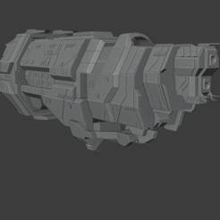 Download 3D printer templates Marathon Class Cruiser, Techno7777