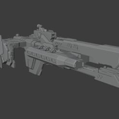 Download 3D model Paris Class Heavy Frigate, Techno7777