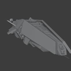 Halbeard1.png Télécharger fichier STL Destroyer de classe Halberd • Design à imprimer en 3D, Techno7777