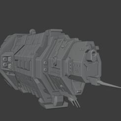 Download 3D printing templates Autumn Class Heavy Cruiser, Techno7777