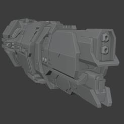 Valiant1.png Télécharger fichier STL Croiseur super-lourd de classe Valiane • Modèle imprimable en 3D, Techno7777