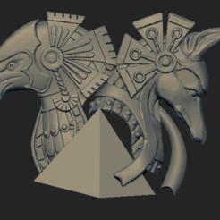 Download 3D print files Ra and Anubis pendant, VNJewelryDesigner