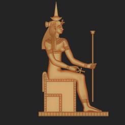 Download 3D printing designs Cleopatra VII Philopator , VNJewelryDesigner