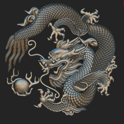 Descargar archivos STL Colgante de Dragón, VNJewelryDesigner