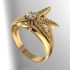 ring.jpg Download OBJ file Millet Ring • 3D printing design, VNJewelryDesigner