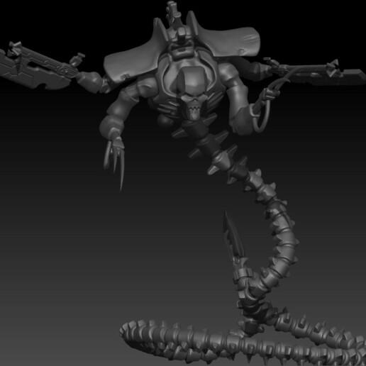 BPR_Composite.jpg Download free STL file Ophydian Necrotic Snake • 3D printable template, frogkillerpl