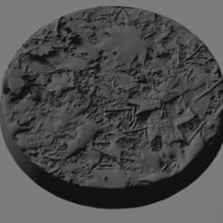 base.png Download free STL file Forest Leaves Base 25mm  • 3D printable model, frogkillerpl