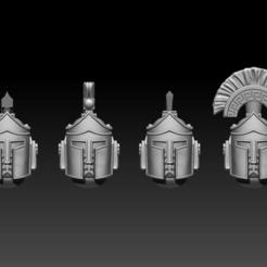 Helmets1.png Download STL file Space Taurus Full Pack Bundle • 3D printing template, ValienWargaming_3D