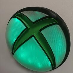 IMG_20210122_114231.jpg Download STL file Xbox LED lamp • 3D print model, HPrint3D