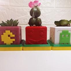 IMG_20201106_152905.jpg Télécharger fichier STL Pot Pac-Man • Modèle pour impression 3D, HPrint3D