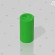 Weed_tip.png Download free STL file Weed cigar tip • Model to 3D print, M4TH14S