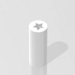 Star_cigar_tip.png Télécharger fichier STL gratuit Conseil des cigares d'étoile • Plan à imprimer en 3D, M4TH14S
