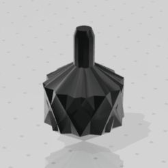 Geometric_Spinning_Top.png Télécharger fichier STL gratuit Toupie géométrique • Plan à imprimer en 3D, M4TH14S