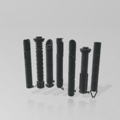 Download free STL file Mix lightsaber kit • 3D print object, M4TH14S