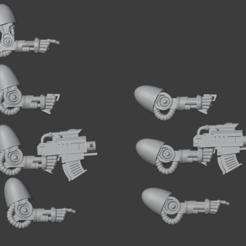 2.PNG Télécharger fichier STL gratuit bras de fer pour mains de fer 40k • Modèle pour imprimante 3D, Punkgirl
