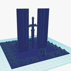 dangerous_to_go_alone.JPG Télécharger fichier STL gratuit zelda joy-con holder • Objet pour imprimante 3D, nightphreak
