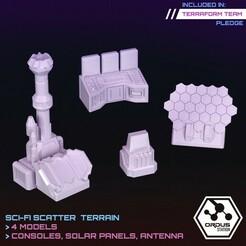 Tech Devices.jpg Download STL file Tech Devices & Consoles • 3D printing design, SaucermenStudios