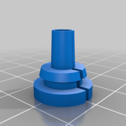 Download free STL file Cable rubber gland / grommet parametric Fusion360 • 3D printable object, ZXAtari