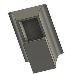 Download free 3D printer templates FPM10A / DY50 fingerprint sensor housing (wall mount), ZXAtari