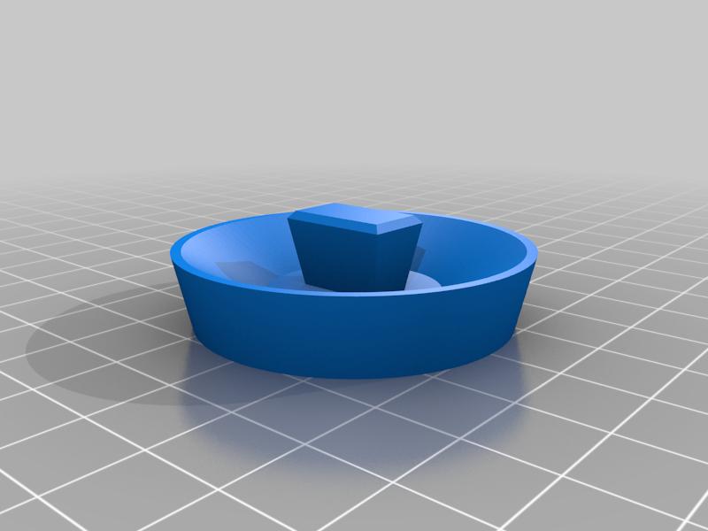 Szpunt_v1.png Télécharger fichier STL gratuit Bouchon de bain 43mm • Modèle imprimable en 3D, ZXAtari