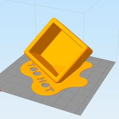 "Download 3D printer designs Box melted ""Too Hot"", Hazon_Maker"