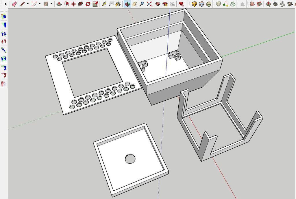 sketchUp01.JPG Télécharger fichier STL gratuit Robinet magique • Objet pour impression 3D, Hazon_Maker