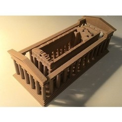P_20180305_202342.jpg Download STL file Temple of Concordia • 3D printer design, Hazon_Maker