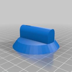 Télécharger fichier SCAD gratuit Bouton de remplacement pour la cuisinière Bosch • Design pour imprimante 3D, slurked