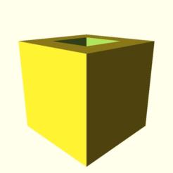 98190fa2e48e226f448715c323507643.png Télécharger fichier SCAD gratuit Encore un autre cube d'étalonnage de 20 mm (avec 10 mm d'encombrement) • Plan pour imprimante 3D, slurked