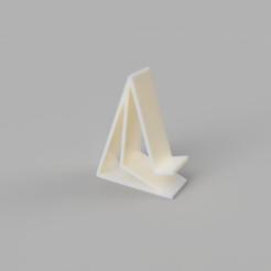 Télécharger objet 3D gratuit Support pour téléphone, Prego