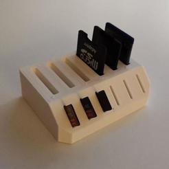 22.jpeg Descargar archivo STL Soporte Sd/Micro SD • Modelo para imprimir en 3D, gekssss