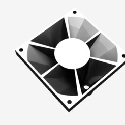 Fan channel 6x180 (1).jpg Download STL file Axial fan 6-channel air divider • Object to 3D print, CJP