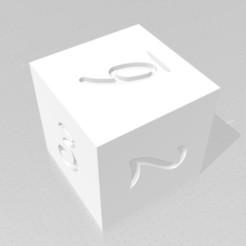 D6.jpg Télécharger fichier STL D6 Sharp Edge - Police de gribouillage • Design pour imprimante 3D, verasartsanddice
