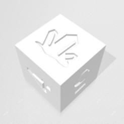D6 Crystal.jpg Download STL file D6 Crystal Symbol Logo • 3D printing design, verasartsanddice